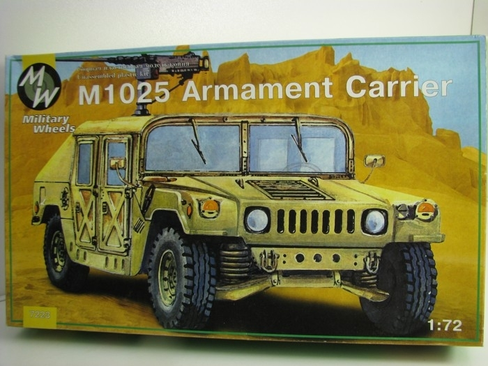 M1025 Armament Carrier 1:72 Military Wheels